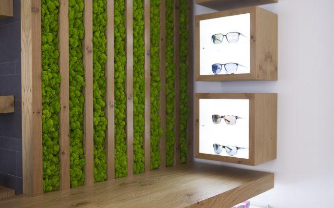Decoración con jardin vertical punto de venta