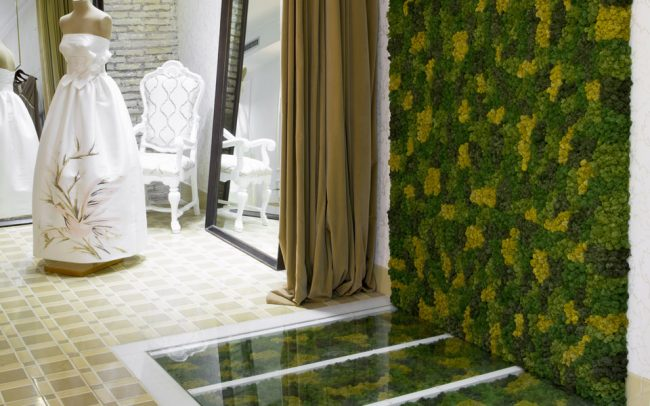 Liquen custom decoración atelier Higinio Mateu