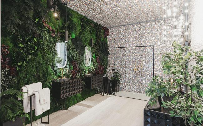 jardines verticales exclusivos para interiores de lujo