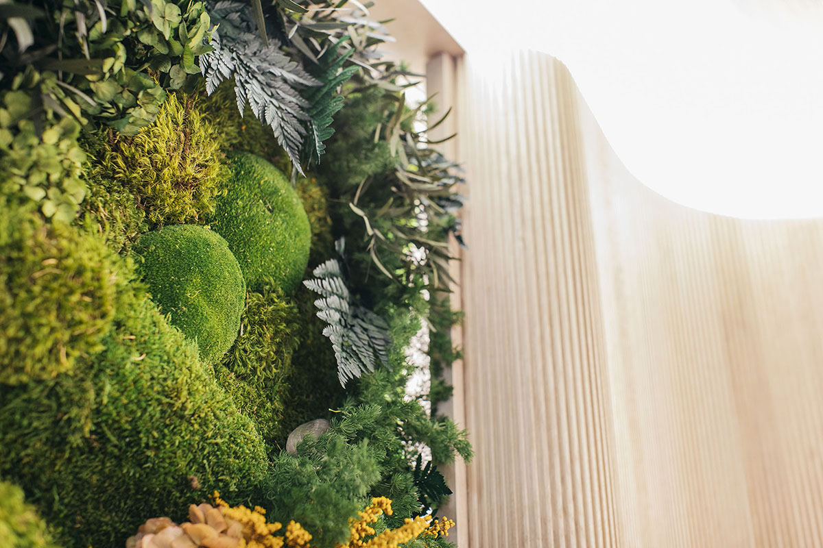 Jardín preservado Greenarea Feria Design Week Marbella 2021