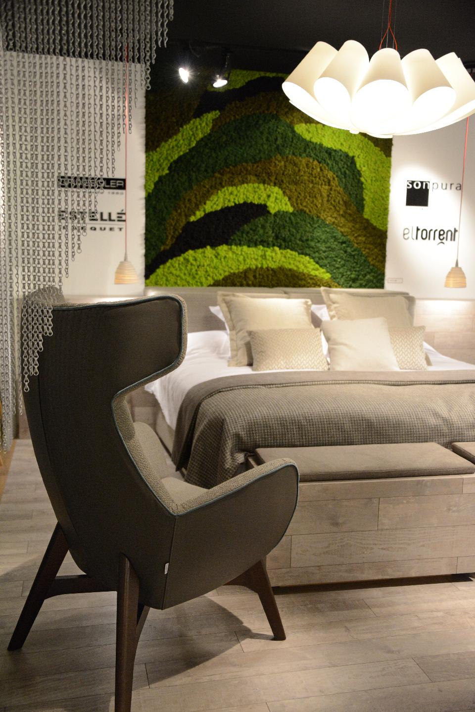 Jardinería vertical en Interihotel para hoteles