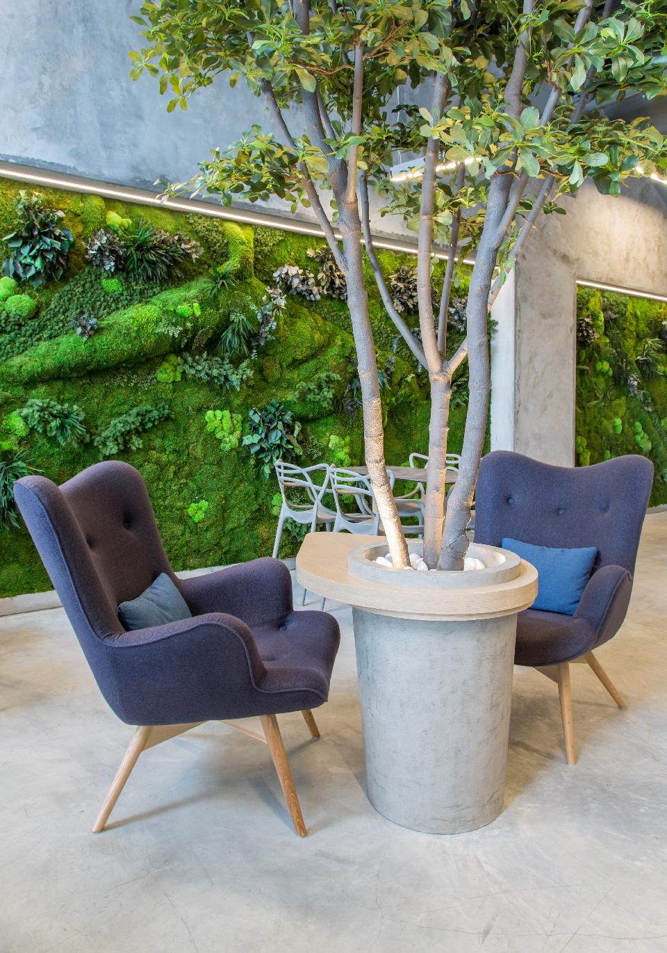 Tbar greenarea for Jardines verticales panama
