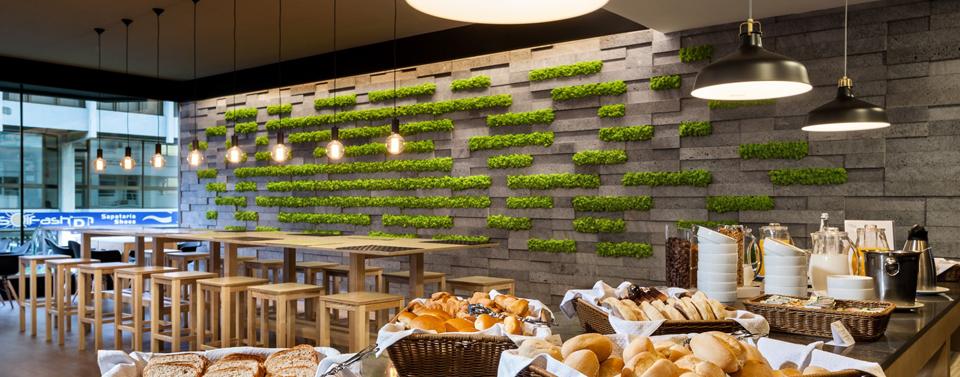 Decoraci n vegetal para hoteles conexi n con la naturaleza - Decoracion para hoteles ...