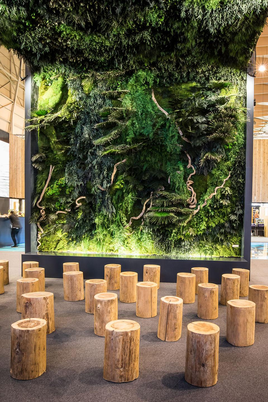 jardin-vertical-preservado-techo-vegetal-decoracion-stand-visit-azores-greenarea-biofilia
