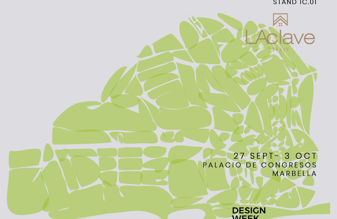 Greenarea en la Design Week Marbella esacio Mónica Diago LAclave