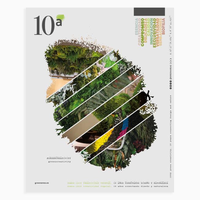 Greenarea cumple 10 años conectando naturalza y diseño para proyectos únicos