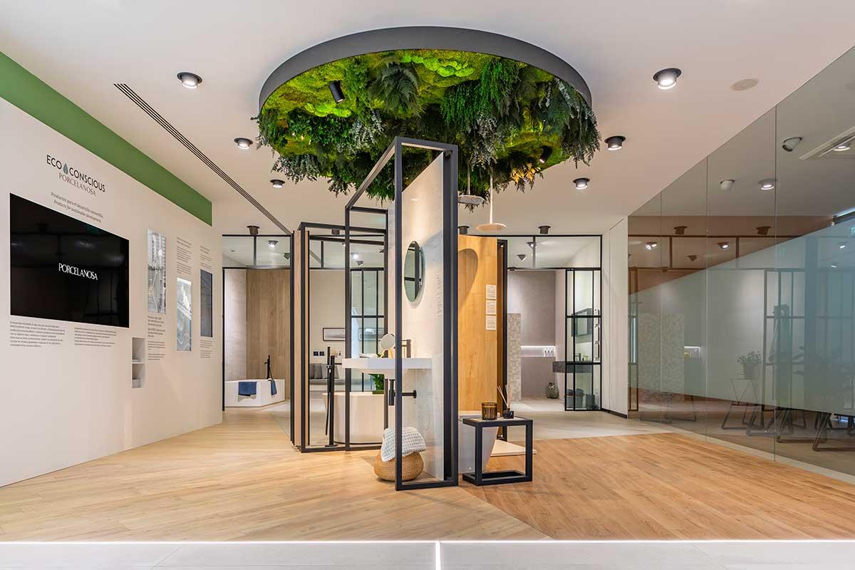 techo vegetal plantas preservadas sin mantenimiento decoración greenarea